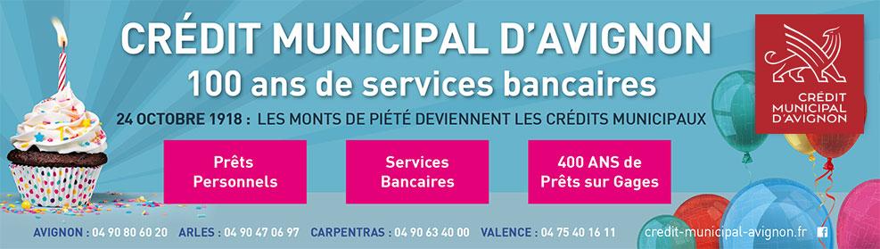 100 ans de services bancaires !