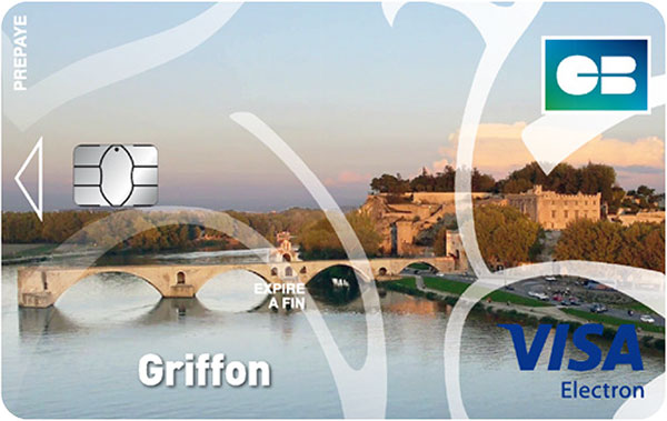 Carte Griffon du crédit municipal d'Avignon