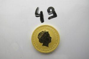 1 Pièce en or Australienne de 25 dollarsPB 7,7g