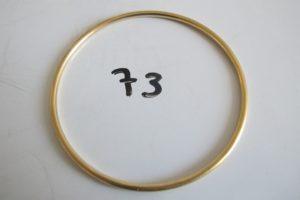 1 Bracelet jonc en or (D7cm).PB 18,6g