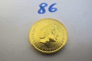 """1 Pièce en or Anglaise """"Elisabeth II"""" 2015 de 25 pounds.PB 7,8g"""