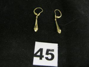 1 bracelet en or maille américaine fantaisie (L 18cm). PB 15,5g