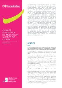La charte de médiation