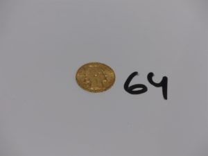 1 pièce de 20Frs RF1913 en or. PB 6,4g