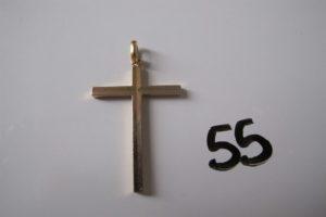 1 Croix en or.PB 4,3g