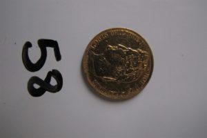 "1 Pièce en or 22 K de 20 Francs de 1838 ""Louis Philippe I"". PB 6,34"