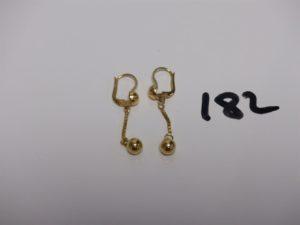 2 pendants en or. PB 4,1g