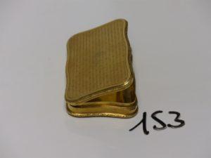 1 Boite à tabac en or PB 117,8g