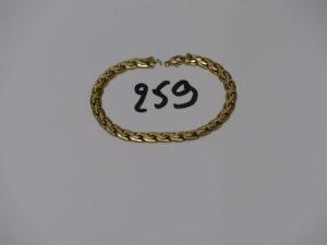 1 bracelet cassé en or PB 11,4g