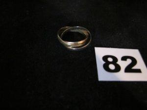 1 Alliance en or 3 brins (TD 55). PB 3,6g