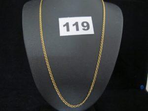 1 Chaine en or maille marine (L 54cm). PB 7,1g