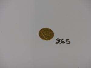 1 Pièce de 20frs NapIII 1854A. PB 6,4g