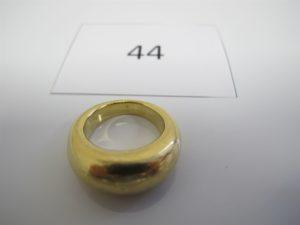 1 Bague jonc bombée en or(TD53).PB 21,2g