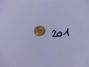 1 pièce de 20 francs RF 1914. PB 6,4g