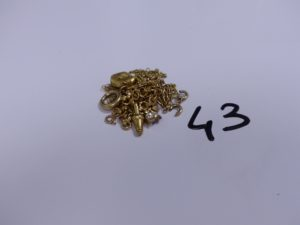 1 Lot casse en or. PB 13,4g