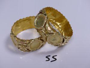 1 Lot casse en or. PB 45,7g