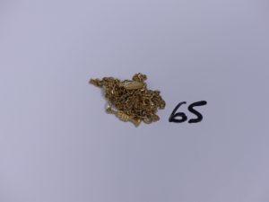 1 Lot casse en or. PB 16,4g